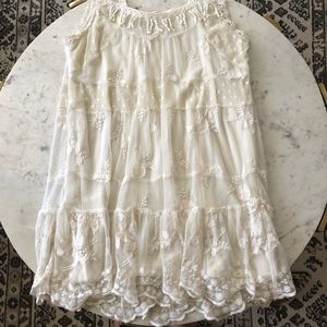 Forever 21 Prairie Lace Mini Dress
